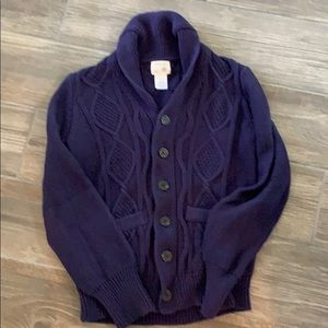 Crewcuts Boys Cardigan Sweater Size 14
